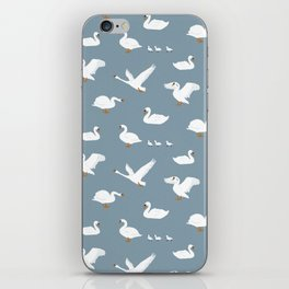 Summertime Swans iPhone Skin