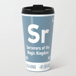 Sorcerers of the MagicKingdom element Travel Mug