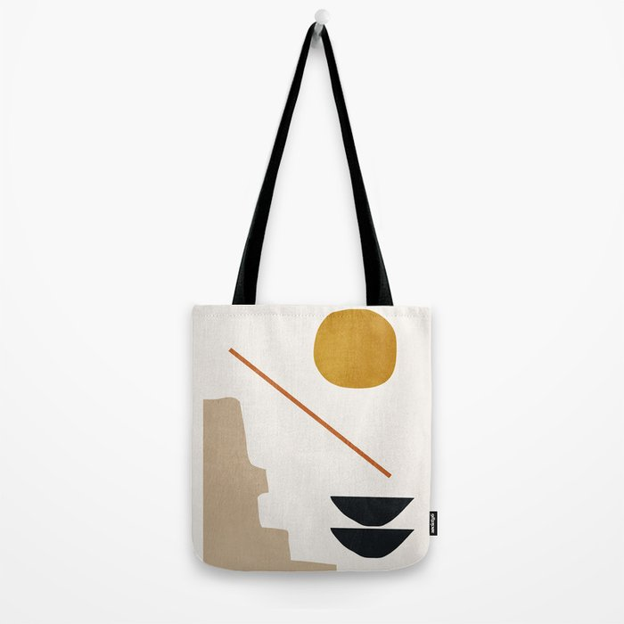 abstract minimal 6 Tote Bag
