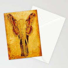 The elephant who wanted to be a butterfly Stationery Cards