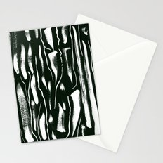 Black and White Paint Pattern Stationery Cards