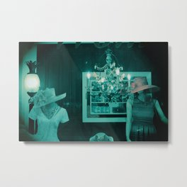 Women without Faces Metal Print