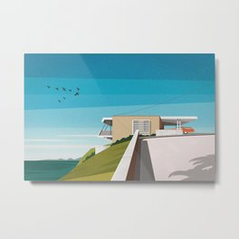 'Spencer House' (1955) Mid century house Metal Print