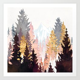 Wine Forest Art Print