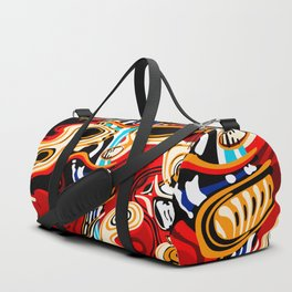 Subtho - 9516 Dead Toaster Chillin' (Totem series) Duffle Bag