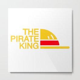 The Pirate King Metal Print