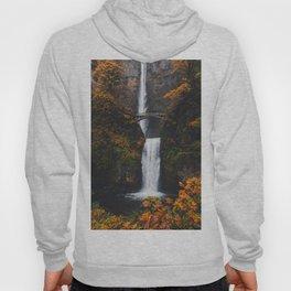 Fall at Multnomah Falls Hoody