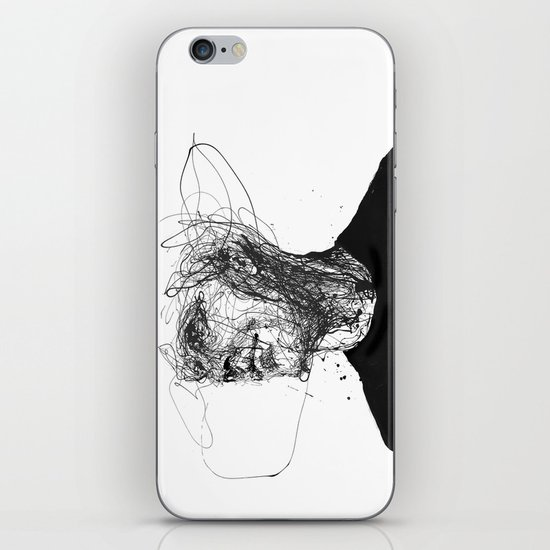 frail lull iPhone & iPod Skin