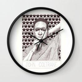 JohnColtrane Jazz Legend Wall Clock
