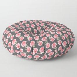 Rose Garden Pattern Floor Pillow