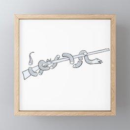 Join or Die American Revolution Framed Mini Art Print