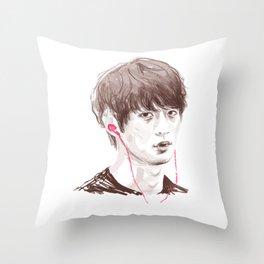 Choi Minho Throw Pillow