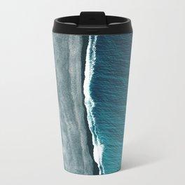 Beach Abstract Travel Mug