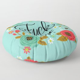 Pretty Swe*ry: Fuck Off Floor Pillow