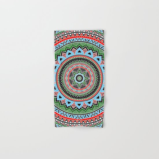 Hippie Mandala 14 Hand & Bath Towel