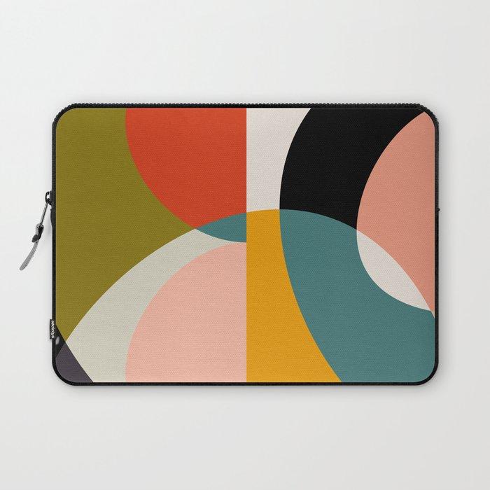 geometry shapes 3 Laptop Sleeve