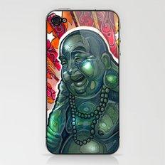 Glowing Buddha iPhone & iPod Skin
