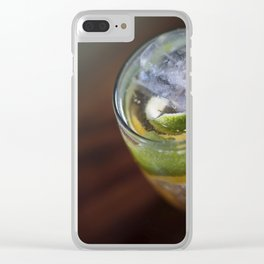 Fine Coktail Drink Clear iPhone Case