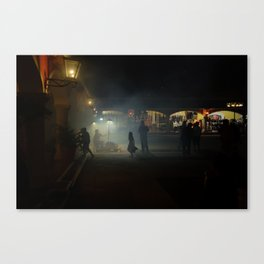 Halloween in Mexico Canvas Print
