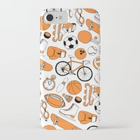 sports iPhone & iPod Cases featuring SPORTS by Shoreside