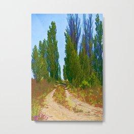 Paradise Road Metal Print