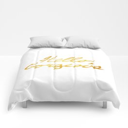 Hello, Gorgeous Gold Comforters