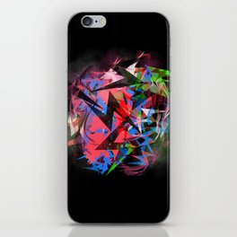 Abstract Electrics iPhone Skin
