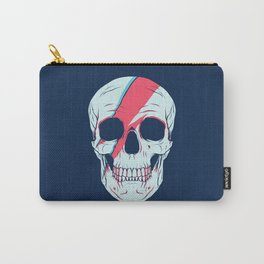 Bowie Skull Carry-All Pouch