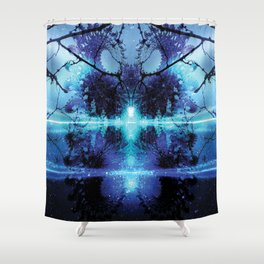Cosmic Beginnings Shower Curtain