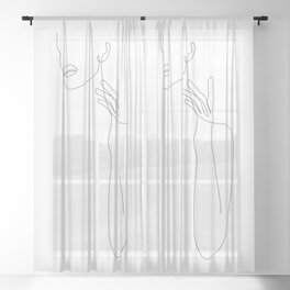 Single Touch Sheer Curtain