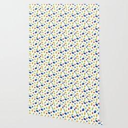 Building Blocks Pattern Wallpaper
