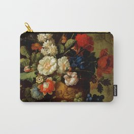 "Jan van Os ""Flowers"" Carry-All Pouch"