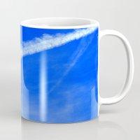 writing Mugs featuring Sky Writing by duglessp