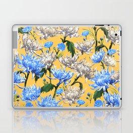 Mums Pattern  |  Yellow-Blue-Cream-White Laptop & iPad Skin