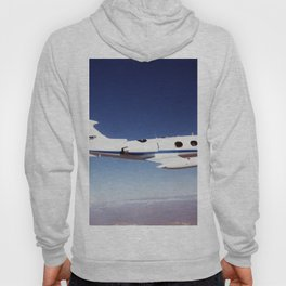 NASA Dryden Flight Research Centers Lear 24 tail number 805 in flight Hoody