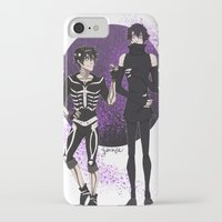 yaoi iPhone & iPod Cases featuring Skelender by Jackce