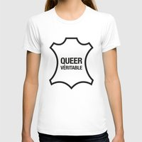 queer T-shirts featuring Queer Véritable by justasign