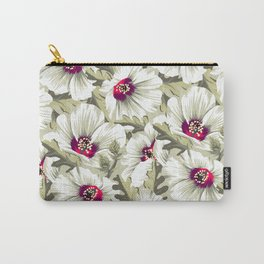 New Zealand Hibiscus Floral Print (Day) Carry-All Pouch