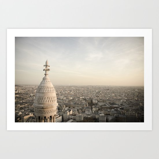 Sacre Coeur - Paris  Art Print