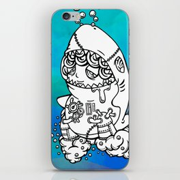 Shark's submarine iPhone Skin