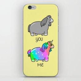 I'm Fab, You're Drab iPhone Skin
