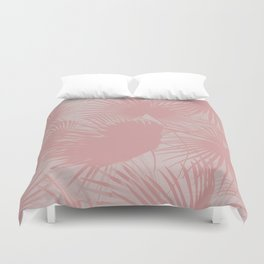 Pastel Palms #society6 #decor #buyart Duvet Cover