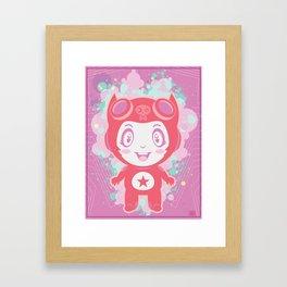 Bubbly! Framed Art Print