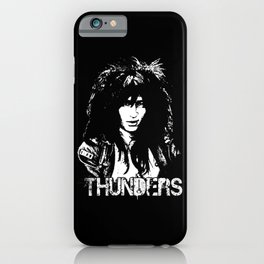 Johnny Thunders iPhone Case
