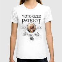 bioshock T-shirts featuring Bioshock Motorized Patriot by Liquidsugar