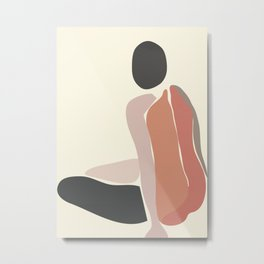Woman Form III Metal Print