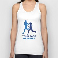 lee pace Tank Tops featuring Your Pace Or Mine? by AmazingVision