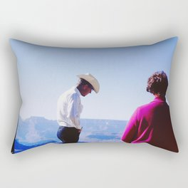 Cowboy Guide Rectangular Pillow