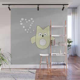 frenchie owl Wall Mural