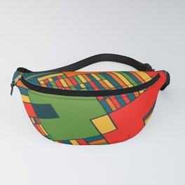 African geometric pattern Fanny Pack